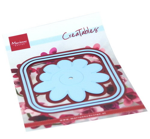 Marianne Design - Creatables - Square box and Flower
