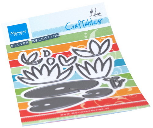 Marianne Design - Craftables - Water lilies