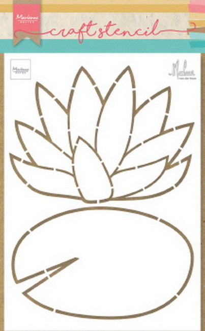 Marianne Design - Craft stencil - Water lily