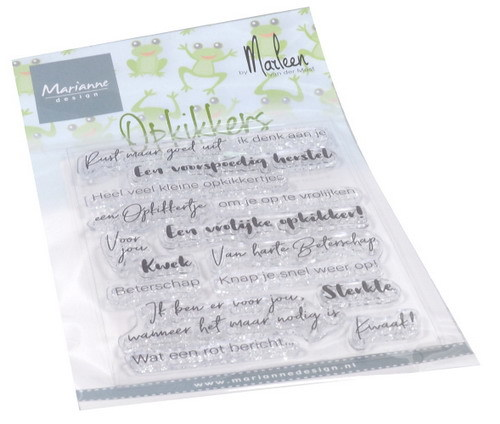 Marianne Design - Clear stamp - Opkikkers