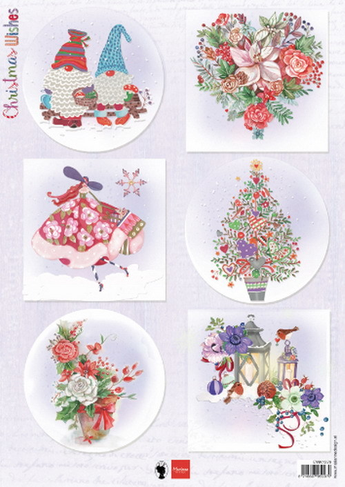 Marianne Design - Knipvel - Christmas Wishes gnomes