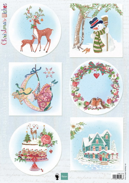 Marianne Design - Knipvel - Christmas Wishes deer