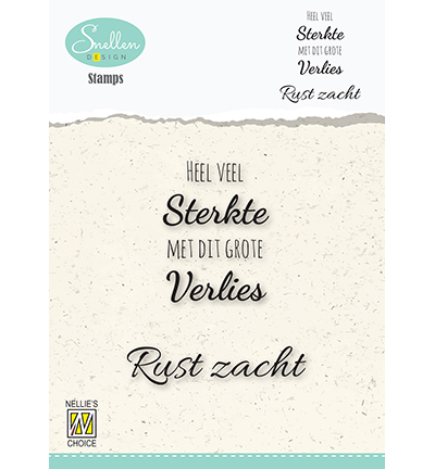 Nellie Snellen - Clearstamp - Texts nr.1