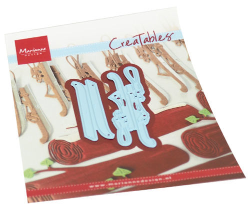 Marianne Design - Creatables - Dutch ice skates