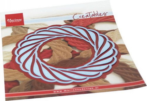 Marianne Design - Creatables - Wicker wreath