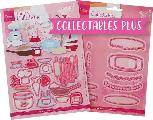 Marianne Design - Collectable plus set - Baking fun