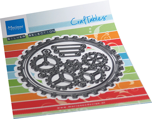 Marianne Design - Craftables - Gears doily