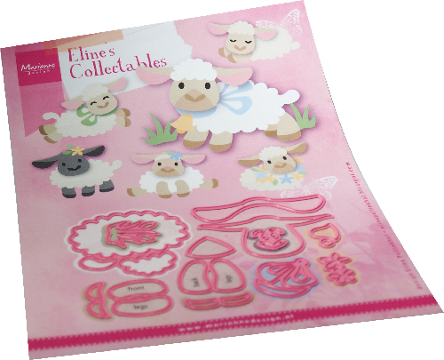 Marianne Design - Collectables - Eline's lamb