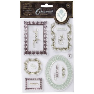 Papermania - Clearstamps - Chatsworth