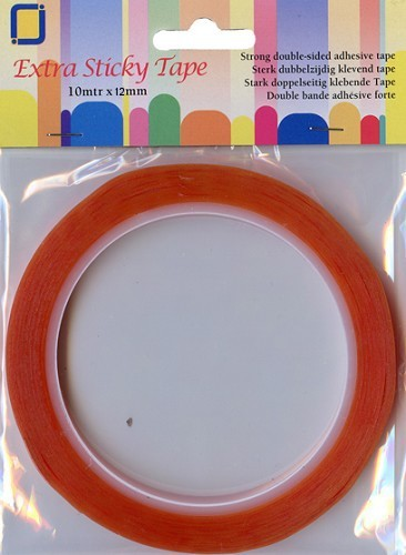 Extra Sticky Tape 12 mm.