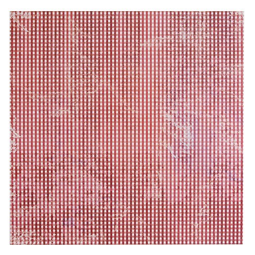 Docrafts Papermania - Gingham Red