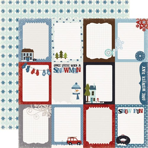 Echo Park - Winterpark Journaling Cards