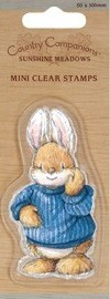 Country Companions - Clearstamp - Rabbit