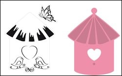 Marianne Design - Collectables - Birdhouse Birds