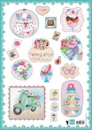 Marianne Design - Knipvel - Happy Days Green