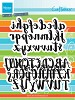 Marianne Design - Craftables - Brush alphabet