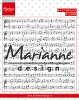 Marianne Design - Clear stamp - Background music notes