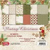 Craft & You - Vintage Christmas - Small paperpad