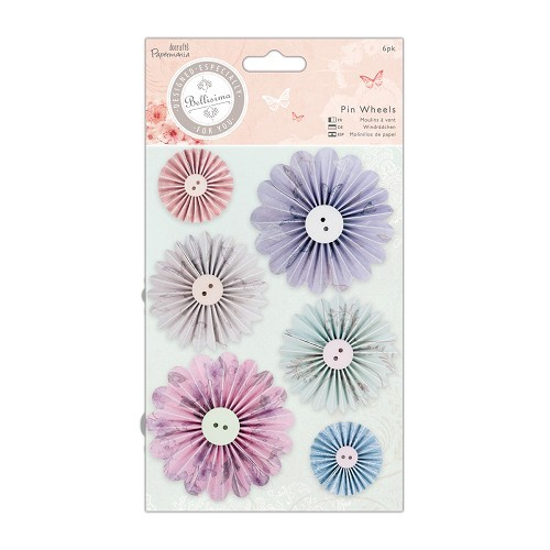 Papermania -  Bellissima - Pin Wheels