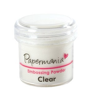 Papermania - Embossing powder - Clear