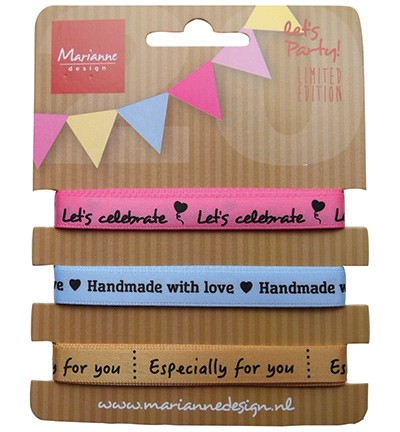 Marianne Design - Ribbons set - Party
