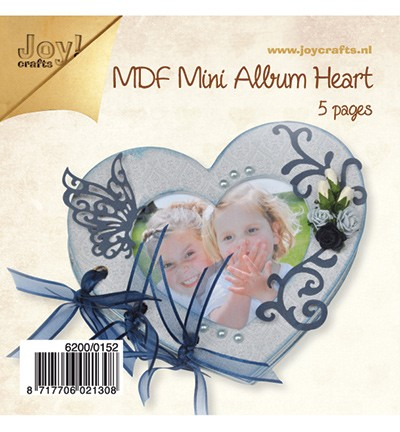 Joy! MDF Mini album hart