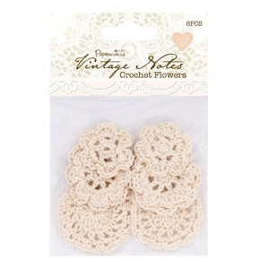 Papermania - Vintage Notes - Crochet Flowers