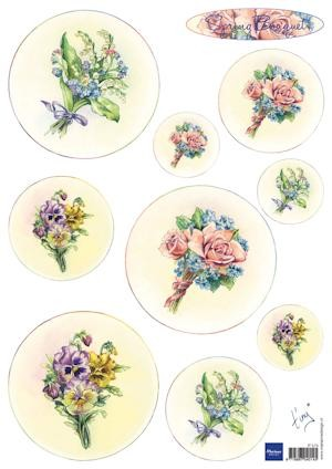 Marianne Design - Knipvel - Tiny`s bouquet Spring