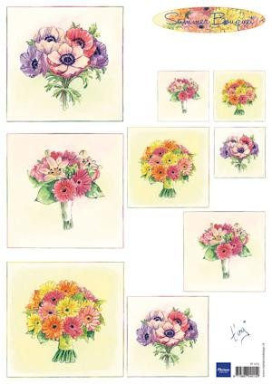 Marianne Design - Knipvel - Tiny`s bouquet Summer