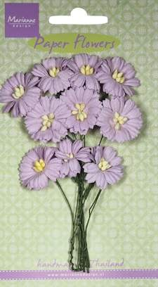 Marianne Design - Daisies light lavender