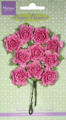 Marianne Design - Carnations - bright pink