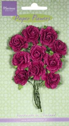 Marianne Design - Carnations - medium pink