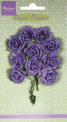 Marianne Design - Carnations - dark lavender