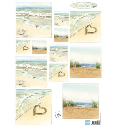 Marianne Design - Knipvel - Tiny`s Sand & Sea 2
