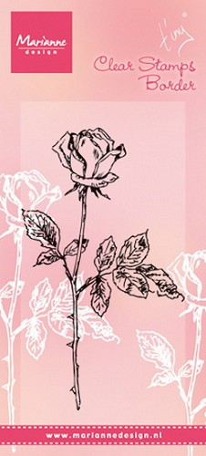 Marianne Design - Clear stamp - Tiny´s single rose