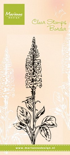 Marianne Design - Clear stamp - Tiny´s foxglove