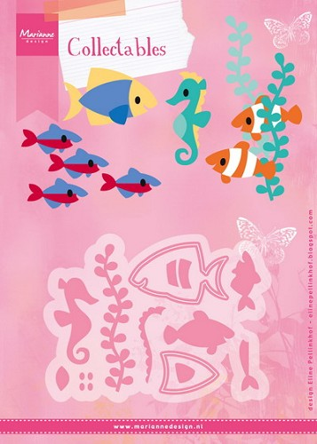 Marianne Design - Collectables - Eline`s Tropical Fish