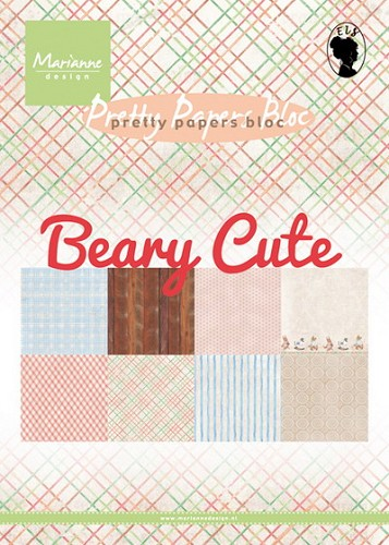 Marianne Design - Pretty Papers Bloc - Beary Cute