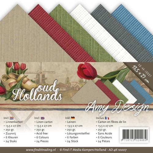 Amy Design - Oud hollands - Linnenkarton