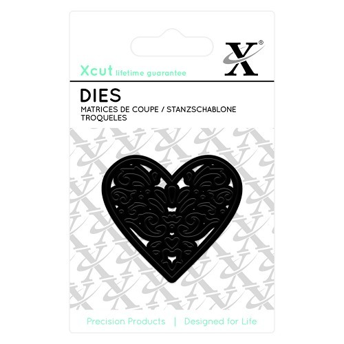 Xcut - Dies - Filigree Heart