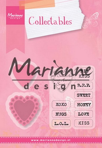 Marianne Design - SALE - Collectables - Candy Hearts UK