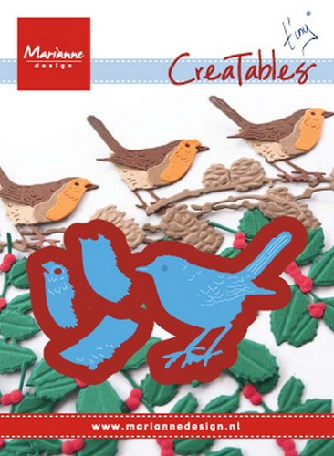 Marianne Design - Creatables - Tiny`s Red Robin