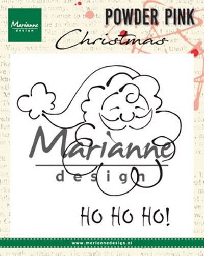 Marianne Design - Clear stamp - Santa claus
