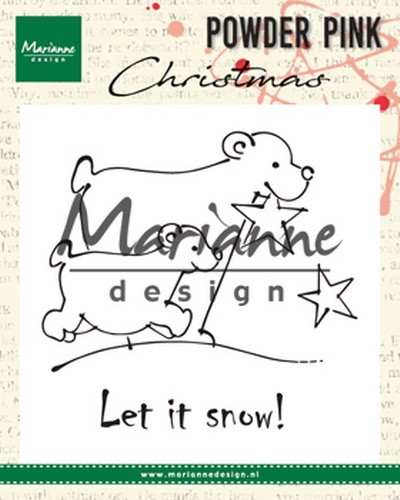 Marianne Design - Clear stamp - Polar bears