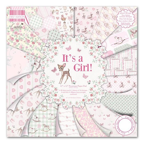 First Edition - 12x12 Pad - It´s a Girl
