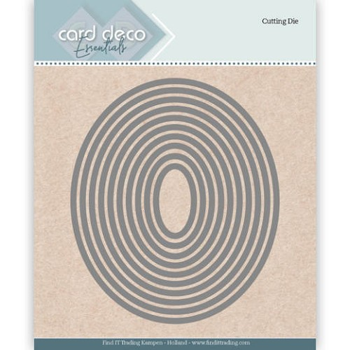Card deco - Essentials - Cutting Dies - Ellipse