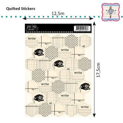 Jenni Bowlin - Quilted Stickers Memo