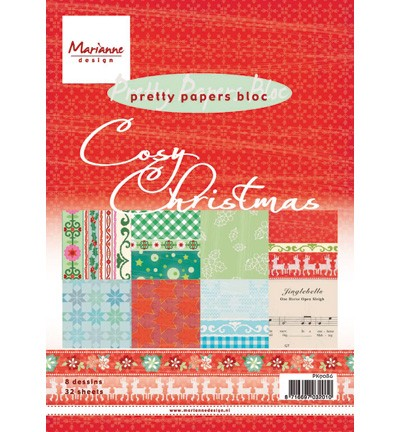Marianne Design - Pretty Papers Bloc - Cosy Christmas