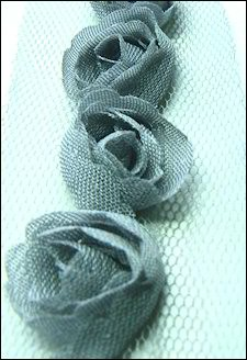 Marianne Design - Flower Ribbons - Grey