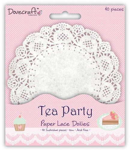 Paper Lace Doilies - Tea Party